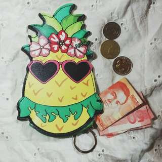 Reprice! Pineapple Coin purse