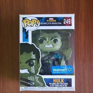 Hulk Thor Ragnarok Edition Funko Pop Walmart Exclusive 8/10