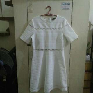 Topshop white dress( Repriced)