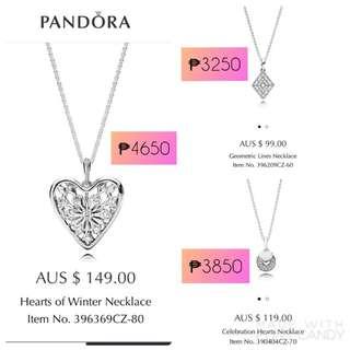 Authentic Pandora Necklaces