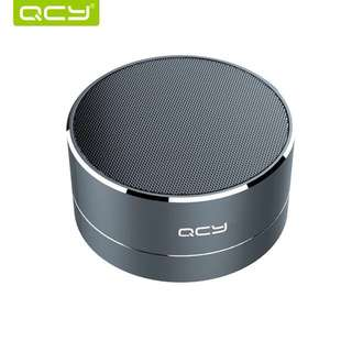 NEW! QCY A10 wireless bluetooth speaker metal mini portable subwoof sound with Mic TF card FM radio AUX MP3 music play loudspeaker