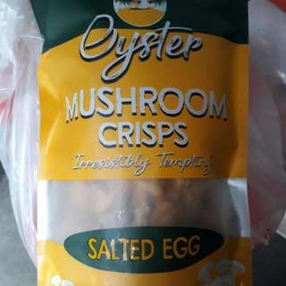 Crispy salted egg mushroom