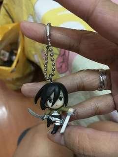 Mikasa Ackerman Keychain