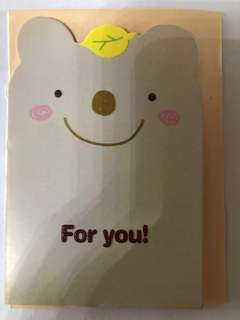 "Cute Cards with Envelope - "" FOR YOU """