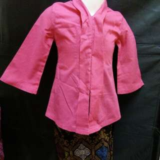 Pink Kebaya cotton