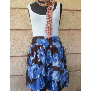 Willow and Clay Printed Skirt