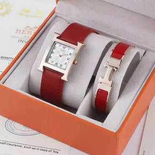Hermes watch & bracelet