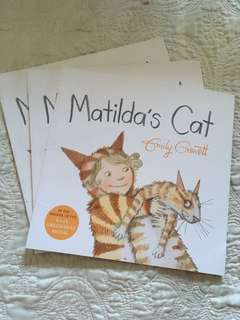 Book Sale! Matilda's Cat