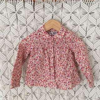 Zara Baby Girls 12 - 18 months Shirt Floral Boho Pretty 💕