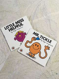 Book Sale!  Little Ms. Helpful/Mr. Tickle