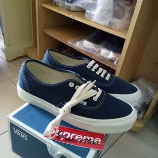 Vans Authentic OG Vault Dress Blue