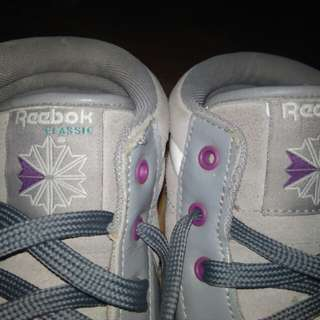 Reebok High Top Gray SHOES