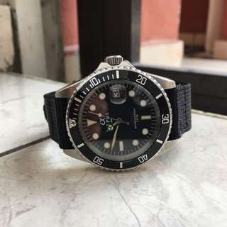 Alpha Submariner Diver Watch Jam