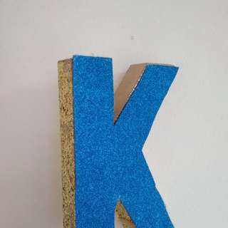 Birthday Block Letter