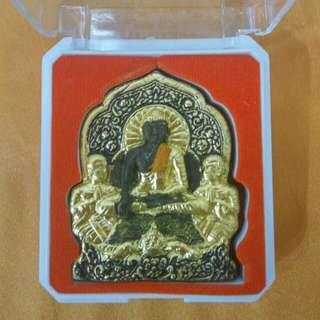 LP Noi Phra Buddha With Phayaamulets Amulet BE 2560 / 2017