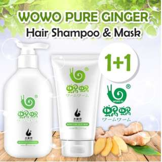 Wowo Ginger Shampoo and Hair Mask