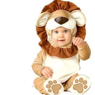 Lovable Lion King Mane Infant Costume