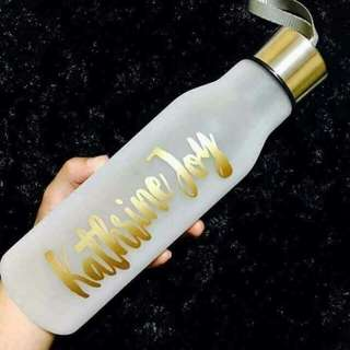 Frosted Tumbler