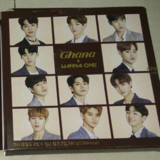 Wanna-One Ghana Chocolate Album