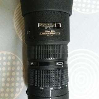 Nikkor 80-200 2.8 Lense