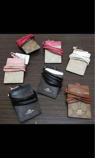 Brand new Authentic pouches, wallets and card holder with sling just for you!!!