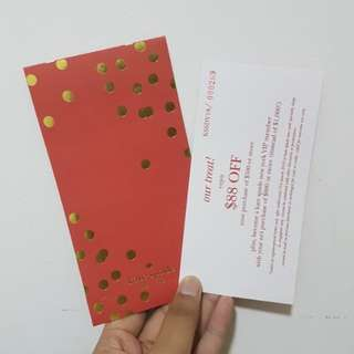 Kate Spade Red Packets