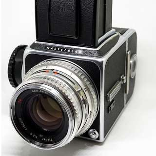 Hasselblad 500 CM Back A12 Carl zeiss Planar