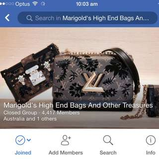 Join Marigold High End Bags And other Treasures