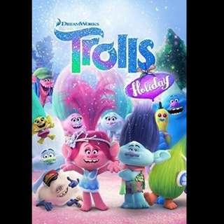 [Rent-A-Movie] TROLLS HOLIDAY (2017) [MCC004]