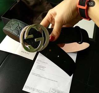 Onhand Luxury belts ( Gucci )