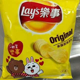 Lay's 樂事洋芋片美國經典原味