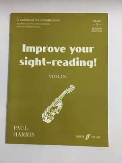 Improve your sight reading violin grade 3