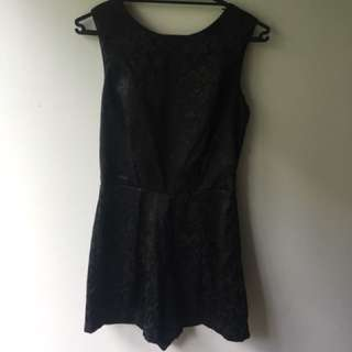 Black Playsuit