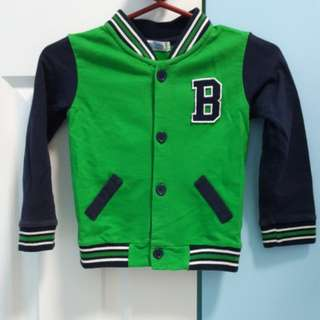 Button Down Jacket for Kids