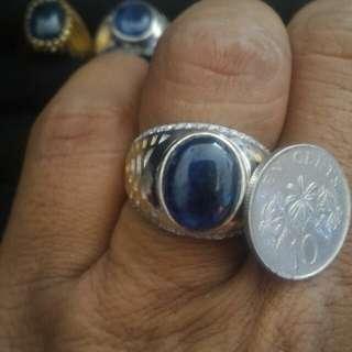 Blue sapphire (Natural genuine)