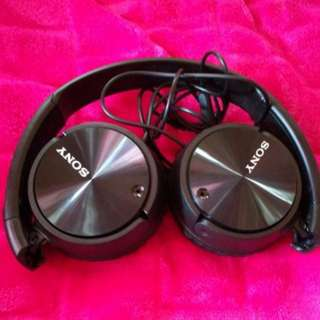 🔥 SALE!! BN Sony Digital Noise Cancelling Over Ear Headphone (MDR ZX110NAB) Foldable