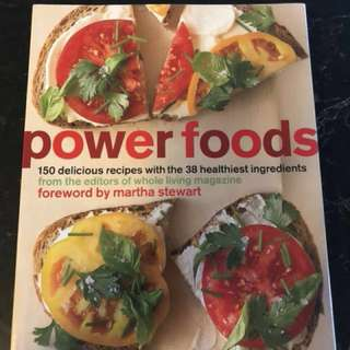Reduced price: power foods cookbook