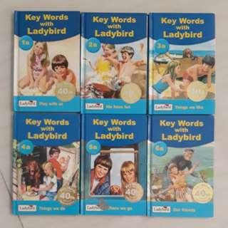 Key words with ladybird