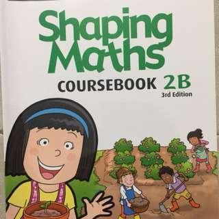 P2 Shaping Maths (CourseBook) 2B & 2A