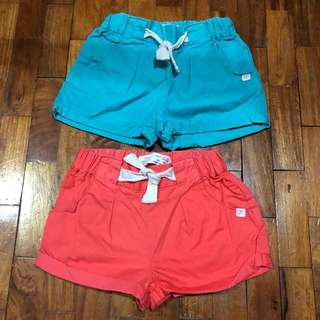 Zara Baby Girl Shorts Bundle