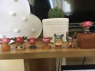 One Piece Chopper Figure Set