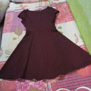 Pre-loved Maroon Dress