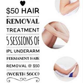 Hair Removal Treatment