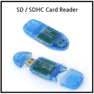SD and SDHC card reader