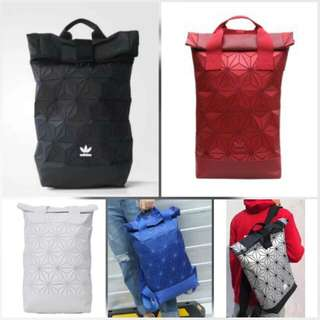 Preorder - Adidas Issey Miyake 3D Roll Top Backpack (Designer Knockoffs)