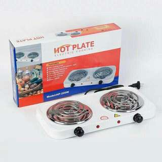 Double cooking hot plate P650
