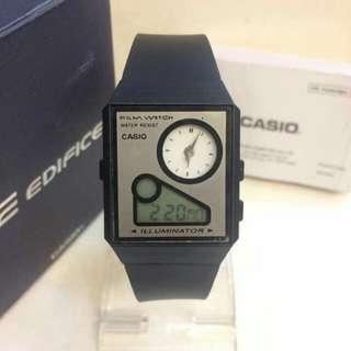 Casio watch w/pouch