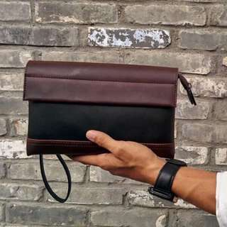 (🔥FREE POSTAGE 🔥) MEN's PU LEATHER HIGH QUALITY CLUTCH BAG, FASHION BAG Premium Bag