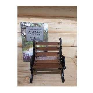 小小 公園椅 🌳木製鍛鐵材質
