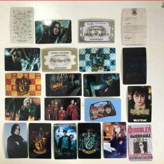 Harry Potter Ezlink Card Stickers
